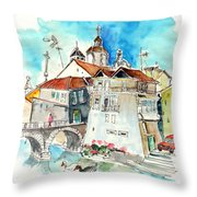 Chaves In Portugal 05 Throw Pillow