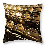 Cheap Seats Throw Pillow