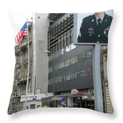 Check Point Charlie Berlin Germany Throw Pillow