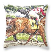 Checkers Throw Pillow