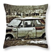Checkout The Truck Throw Pillow