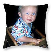 Cheeks Throw Pillow