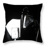 Cheers Before The Kiss Throw Pillow
