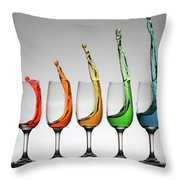 Cheers Higher Throw Pillow