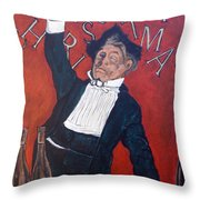 Cheers Throw Pillow by Tom Roderick