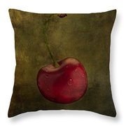 Cheery On Top  Throw Pillow
