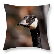 Cheese And Quackers Throw Pillow
