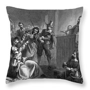 Cheesmans Wife, 1677 Throw Pillow