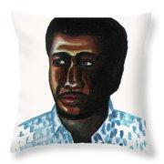Cheick Oumar Sissoko Throw Pillow