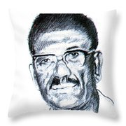Cheikh Anta Diop Throw Pillow