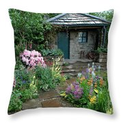 Chelsea Cottage Throw Pillow