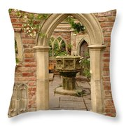 Chelsea Stone Archway Throw Pillow