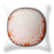 Chemical Waves In Bz Reagent 9 Of 9 Throw Pillow
