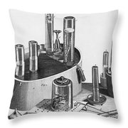 Chemistry Of Gases Throw Pillow