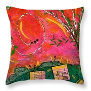 Cherished Songbirds Throw Pillow
