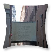 Cherry And Webb Throw Pillow