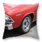 Cherry Chevelle Throw Pillow