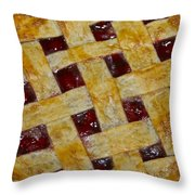Cherry Pie 3782 Throw Pillow