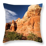 Chesler Park At Canyonlands National Park Throw Pillow