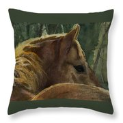 Chestnut Dreams Throw Pillow
