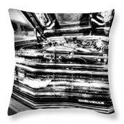 Chevelle - Black And White Throw Pillow