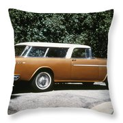 Chevrolet, 1957 Throw Pillow