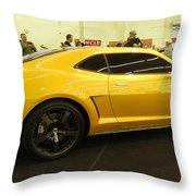 Chevrolet Camaro Bumblebee Throw Pillow