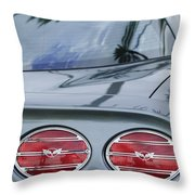 Chevrolet Corvette Tail Light Throw Pillow