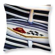 Chevrolet Emblem Throw Pillow