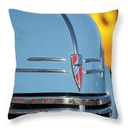 Chevrolet Hood Emblem 2 Throw Pillow
