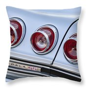 Chevrolet Impala Ss Taillight Throw Pillow