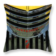 Chevrolet Shine Throw Pillow