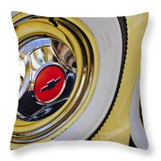 Chevrolet Tires Throw Pillow