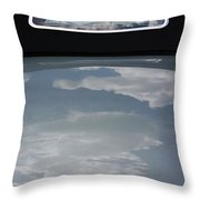 Chevy Coupe Rear Window Throw Pillow