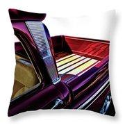 Chevy Custom Truckbed Throw Pillow