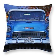 Chevy Front End Throw Pillow