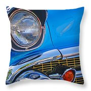Chevy Headlight Throw Pillow