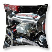 Chevy Power Throw Pillow