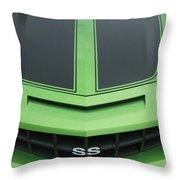 Chevy Ss Emblem Throw Pillow