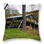Chew Mail Pouch Throw Pillow