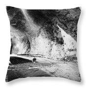 Cheyenne Mountain, 1963 Throw Pillow