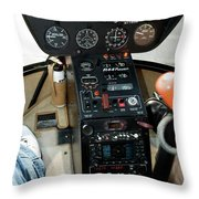 Chicago Airplanes 06 Throw Pillow