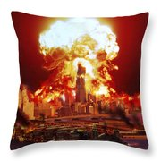Chicago Disintegrates As A Nuclear Throw Pillow
