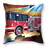 Chicago Eng 4 Throw Pillow