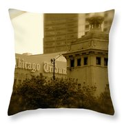 Chicago Impressions 7 Throw Pillow