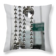 Chicago In The Bubble Throw Pillow
