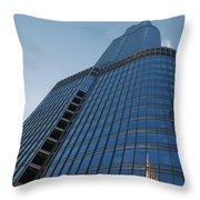 Chicago Skyscraper Throw Pillow