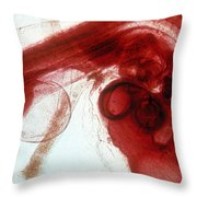 Chick Development 1112 Throw Pillow by Science Source