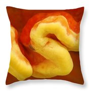 Chicken Of The Woods Laetiporus Throw Pillow