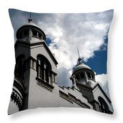 Chiesa Valdese Throw Pillow